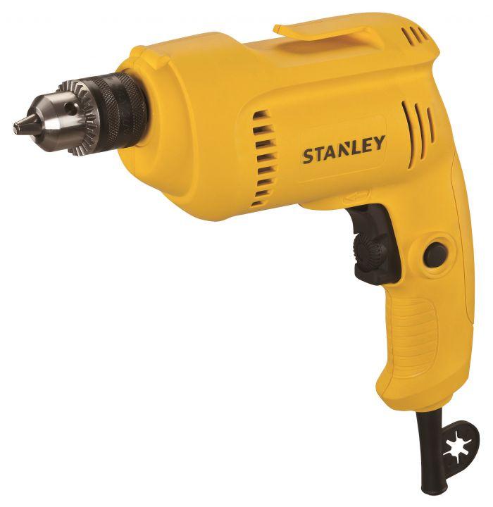 Дрель, 550Вт, 10мм, 0-2800об/мин., ключ Stanley