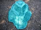 горка пруд синяя