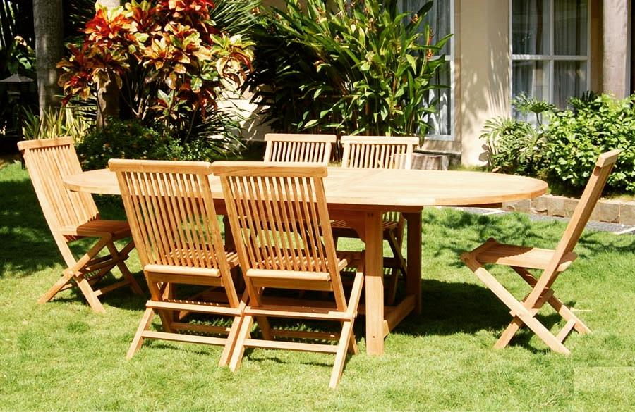 Новое поступление садовой мебели из эвкалипта!