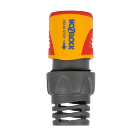 Коннектор aquastop Plus (15 мм + 19 мм) Hozelock.