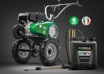 Купи мотоблок CAIMAN и получи опрыскиватель в подарок!