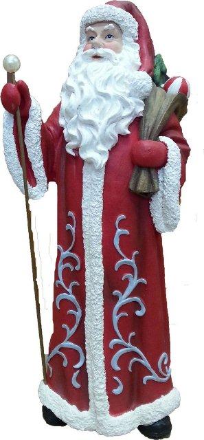 Дед Мороз с мешком подарков Н-40см.