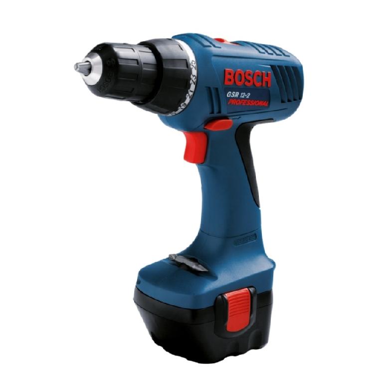 Дрель-шуруповерт акк. Bosch GSR 12-2 (2ск,2ак1,5Ач)