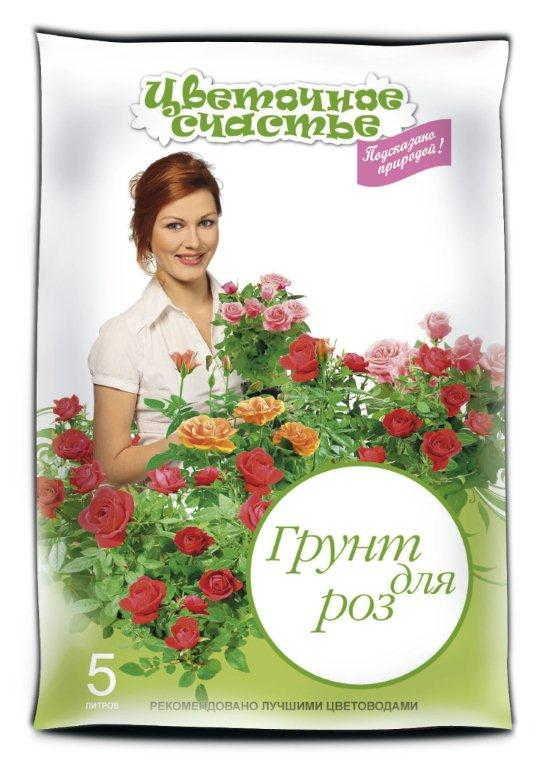 Грунт Цветочное счастье Розы Специализ 5л (10шт/кор)