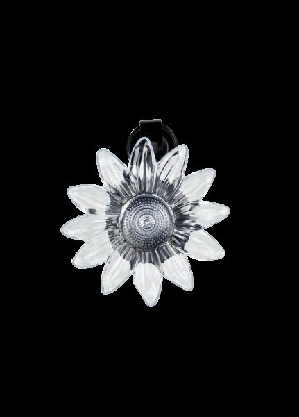 Фонарь на солнечной батарее Космос SOL222F цветок крепиться на стекло