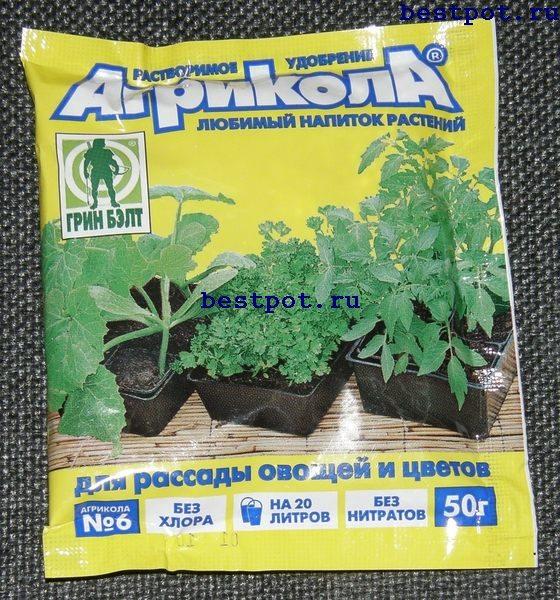 Уд Агрикола 6 д/Рассады 50г (50шт/кор)