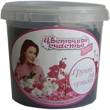Грунт Цветочное счастье Орхидея Специализ 1л (18шт/кор)