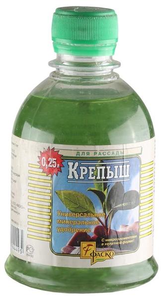 Уд Крепыш в бутыл д/рассады 250мл минер жидк (15шт/кор)