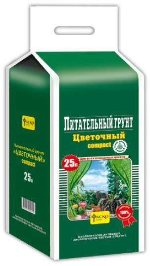 Грунт Цветочный брикетированный Универсальный 25л (5 шт/кор)