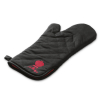 6472H14 2014 Weber Barbecue Mitt Black with Red Kettle Product Facing Right